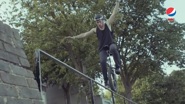 Unicycle vs. BMX Battle | Pepsi Max #LiveForNow